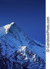 Mont Blanc. - Mont Blanc, Chamonix, French Alps. France.