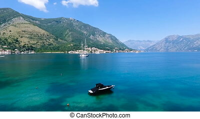 Montenegro, bay air shooting - Montenegro landscape, bay air...
