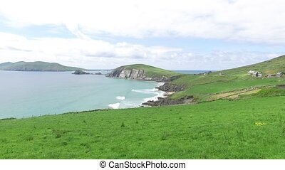 view to ocean at wild atlantic way in ireland 78 - nature...