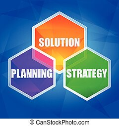 planning, solution, strategy, vecto - planning, solution,...