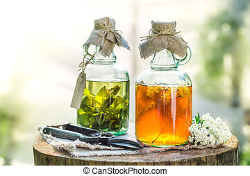 Homemade tincture as homemade cure