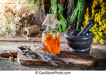 Therapeutic tincture as natural medicine