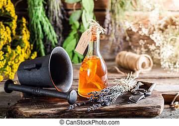 Aromatic tincture as natural medicine