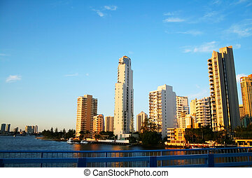 Surfers Paradise Skyline Gold Coast Australia - Surfers...