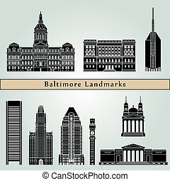 Baltimore Landmarks - Baltimore landmarks and monuments...