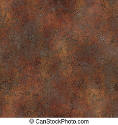 Seamless Rust Texture as Rusted Metal Background