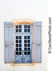 Typical window in Avignon