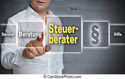 Steuerberater (in german tax consultant, advice, help)...