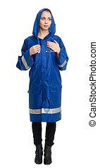 Emergency service worker in uniform