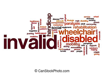 Invalid word cloud concept - Invalid word cloud