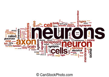 Neurons word cloud concept - Neurons word cloud