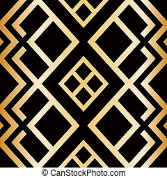 Art Deco style seamless pattern. abstract geometric texture....