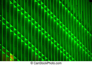 horizontal image of a Green building