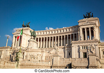 Beautiful Vittorio Emanuele II in Rome, Italy