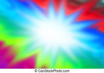 Abstract Graphic paint colorful background with white flash...
