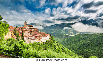 Wonderful small town, Umbria, Italy
