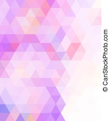 Crazy wallpaper with triangles - Crazy colorful background...