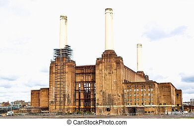 London Battersea powerstation HDR - High dynamic range HDR...