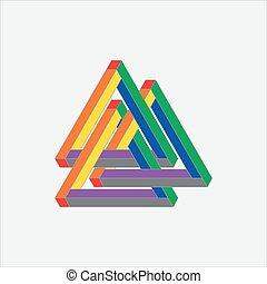 Optical Illusion, impossible geometry