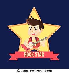 rockstar illustration design