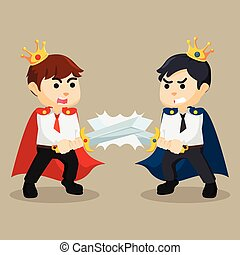 battle between business king