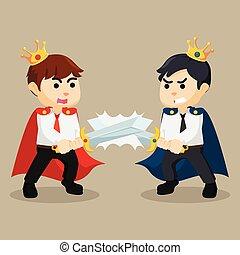 battle between business king
