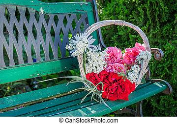 Wonderful colorful flowers