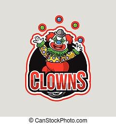 clowns illustration design