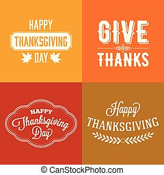 thanksgiving  type font  typography  design and elements