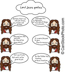 Smiling Lord Jesus and Bible quotes with verses - Smiling...