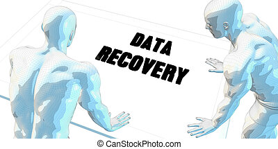 Data Recovery Discussion and Business Meeting Concept Art