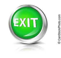 button with exit symbol.