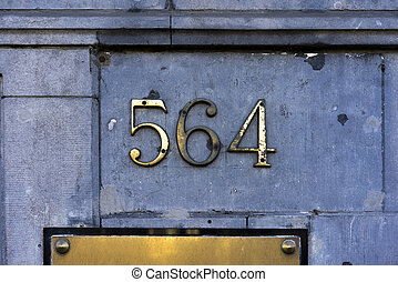 Number 564 - House number five hundred sixty four 564