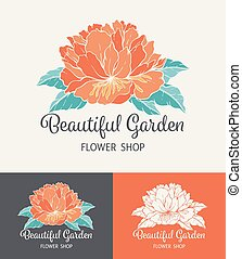 Flower Logo Shop