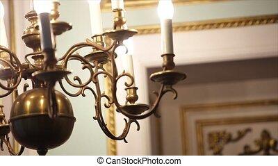 Beautiful Chandelier in church - Beautiful Chandelier in the...