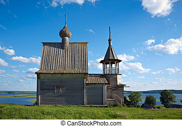 Wooden chapel St NicholasKenozerye, Arkhangelsk region,...