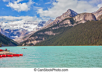 Banff National Park, Rocky Mountains, Canada - Lake Louise...