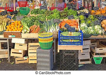 市場, 農夫