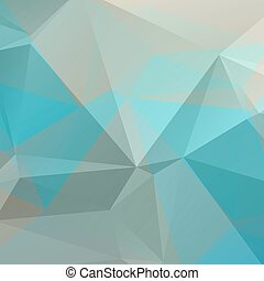 blue gray background - Polygonal abstract background with...