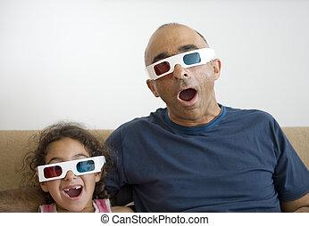 kind aufpassen fernsehen stock fotos und bilder kind aufpassen fernsehen bilder und. Black Bedroom Furniture Sets. Home Design Ideas