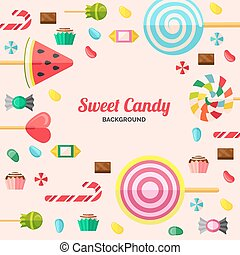 Sweet Candy Poster