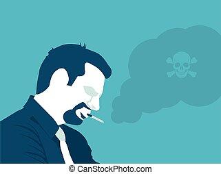 Smoking is poison