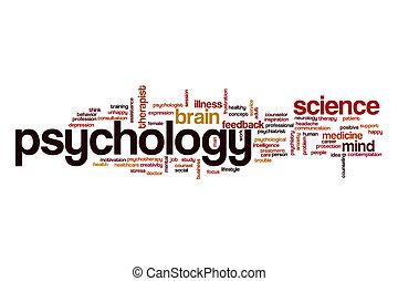 Psychology word cloud concept