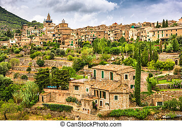 Valldemossa, Mallorca, Spain village.