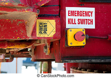 Emergency Kill Switch Safety Feature - Machinery safety...