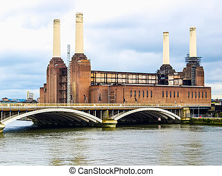 Battersea Powerstation, London HDR - High dynamic range HDR...