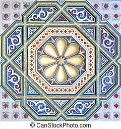 moorish - An image of a beautiful moorish ornament