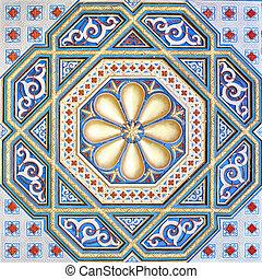 moorish - An image of a beautiful moorish ornament