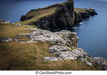 Neist point lighthouse, Isle of Skye, Scotland