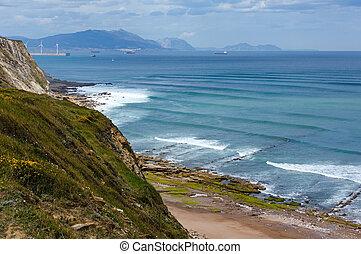 Beach Azkorri or Gorrondatxe view - Beach Azkorri or...